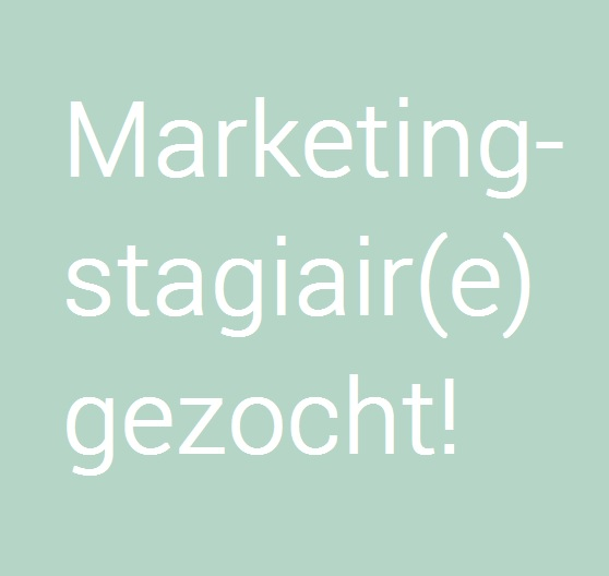 Marketingstagiair gezocht